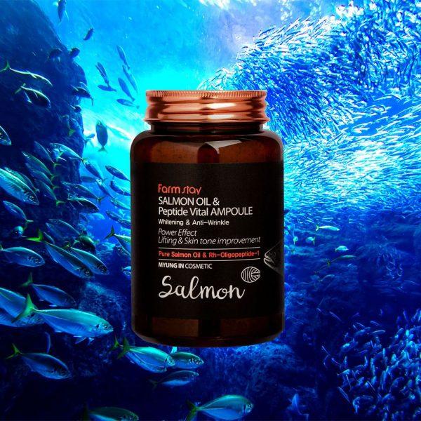 FARMSTAY-SALMON-OIL-&-PEPTIDE-VITAL-AMPOULE