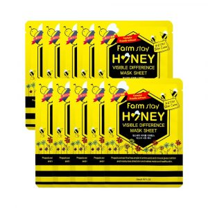 FarmStay Visible Difference Mask Sheet Honey