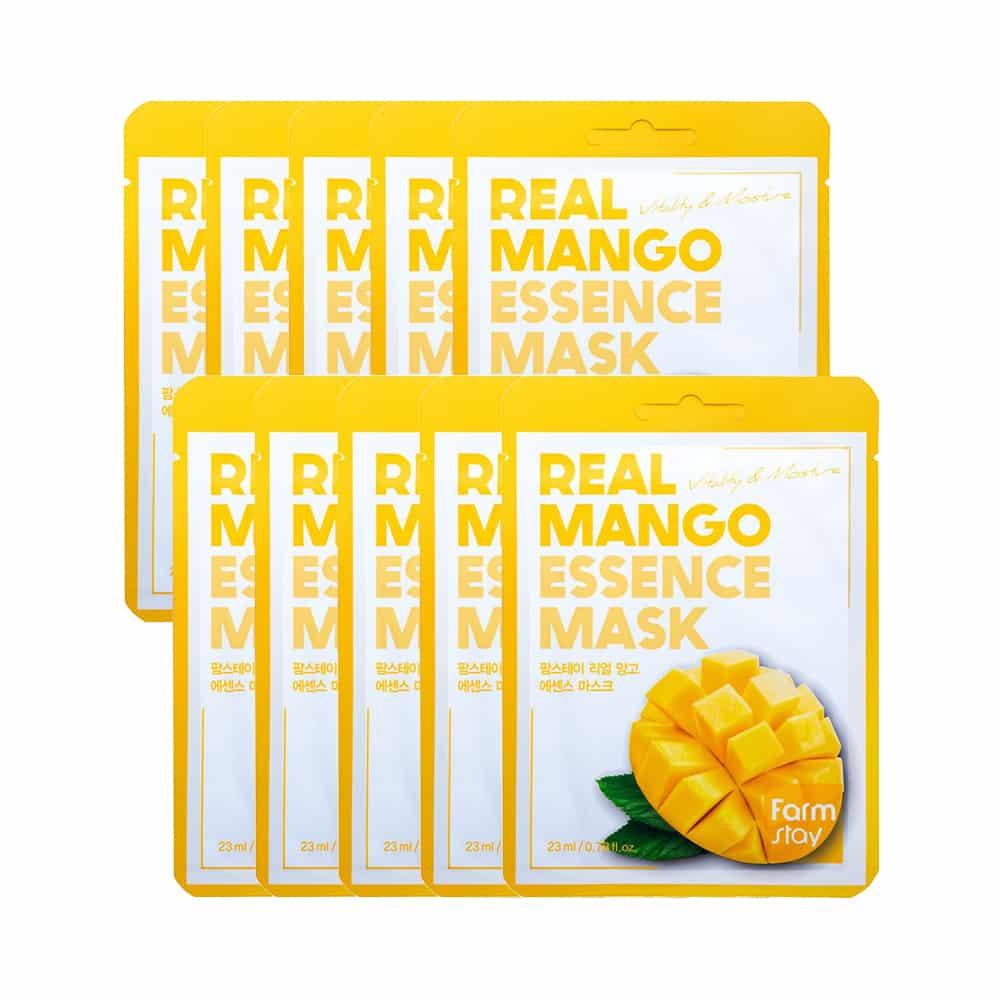 [FarmStay] Real Mango Essence Mask-10sheets