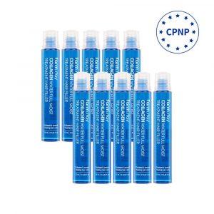 [Farm stay] Collagen Water Full Moist Treatment Hair Filler-13ml x 10