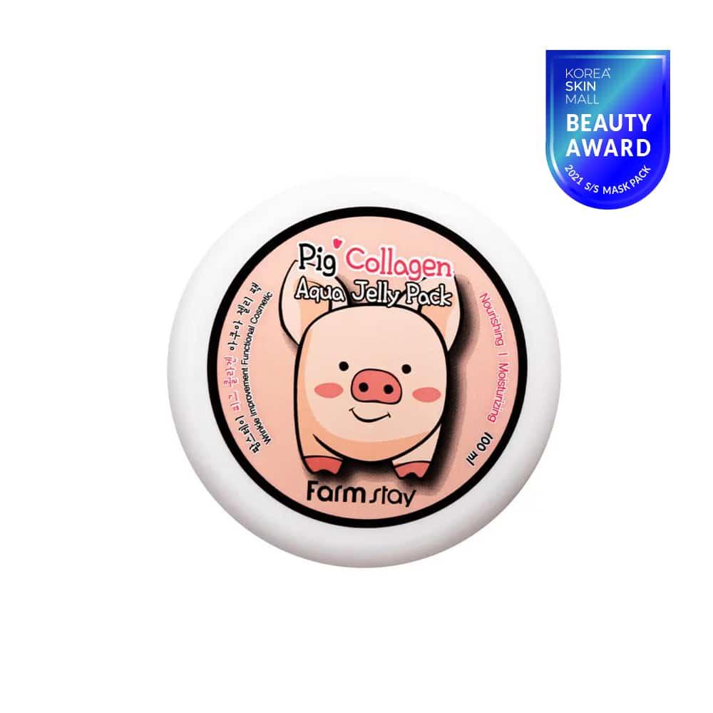 [Farmstay] Pig Collagen Aqua Jelly Pack-100ml
