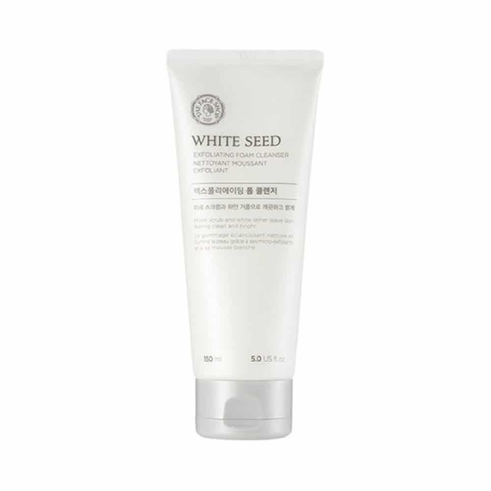 [THE FACE SHOP] White Seed Exfoliating Cleansing Foam-150ml