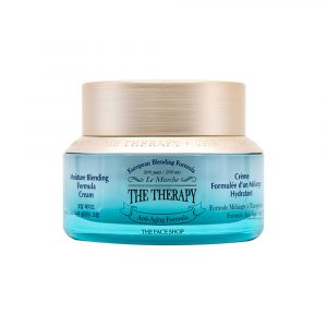 [THE FACE SHOP] The Therapy Moisture Blending Formula Cream – 50ml