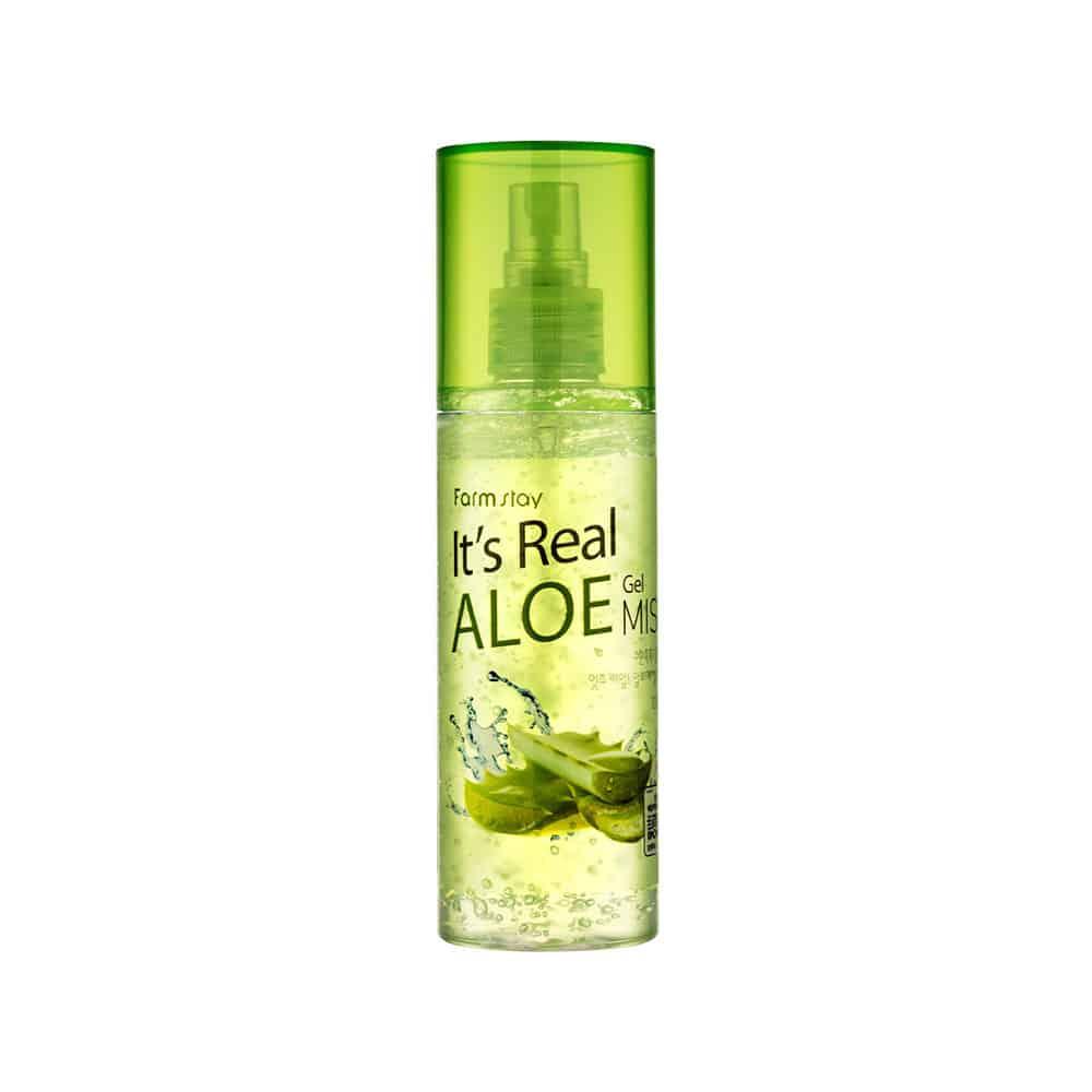 [Farmstay] It's Real Aloe Gel Mist-120ml