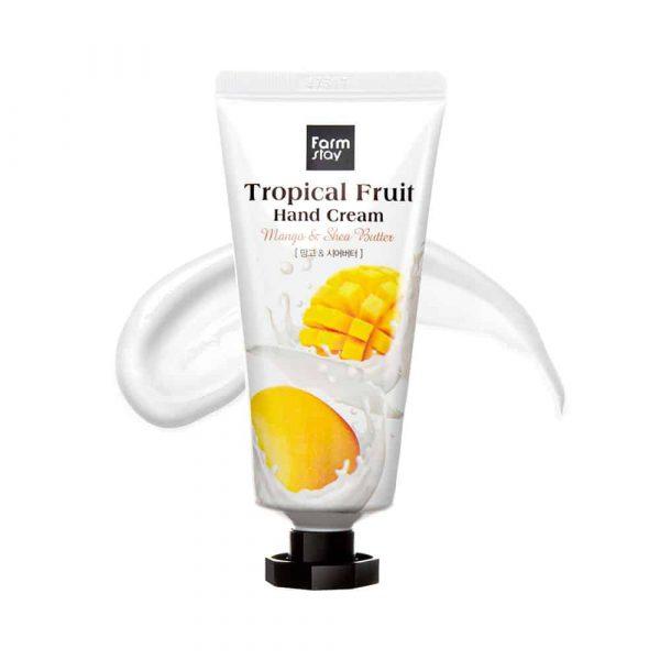 Farmstay Tropical Fruit Hand Cream Mango & Shea Butter