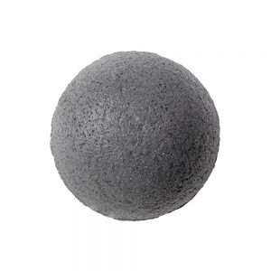 eonnii Natural Konjac Soft Cleansing Puff-Charcoal