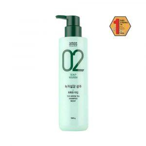 AMOS 02 The Green Tea Shampoo Moist