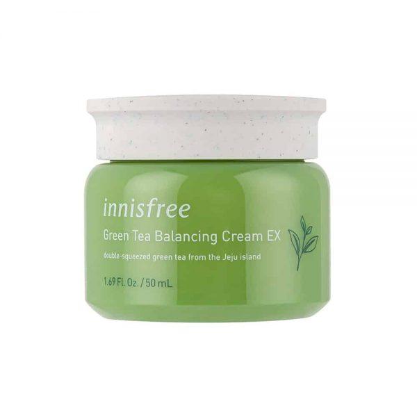 [innisfree] Green Tea Balancing Cream EX