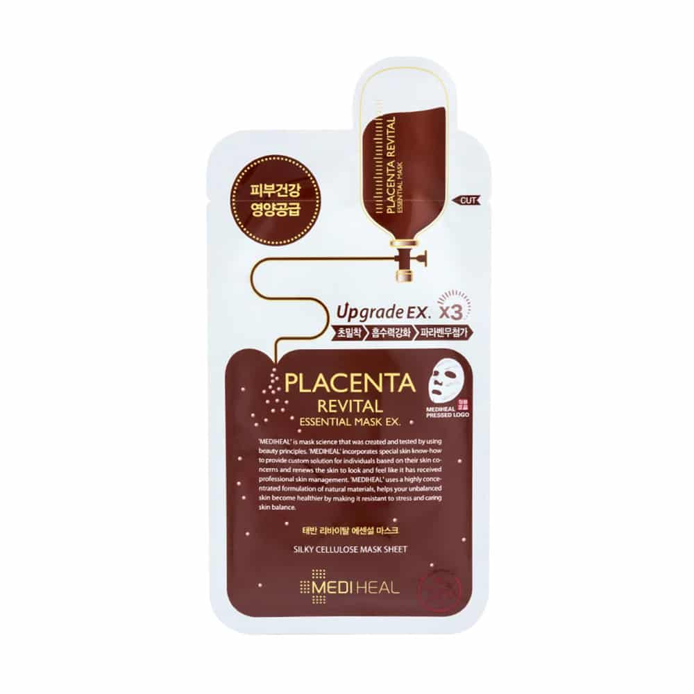 [MEDIHEAL] Placenta Revital Essential Mask Ex.-1ea