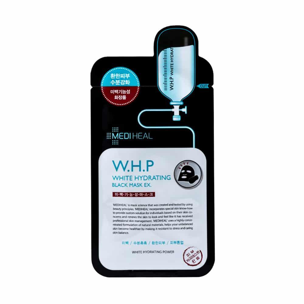 [MEDIHEAL] W.H.P White Hydrating Black Mask EX.-1ea