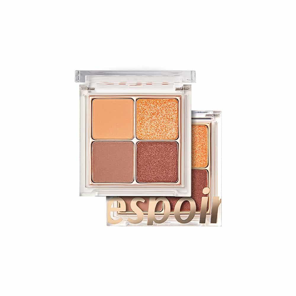 [espoir] Real Quad Palette Orange Fever-7.3g