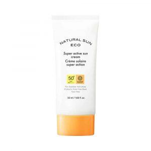 [THE FACE SHOP] Natural Sun Eco Super Active Sun Cream SPF50+ PA++++-50ml