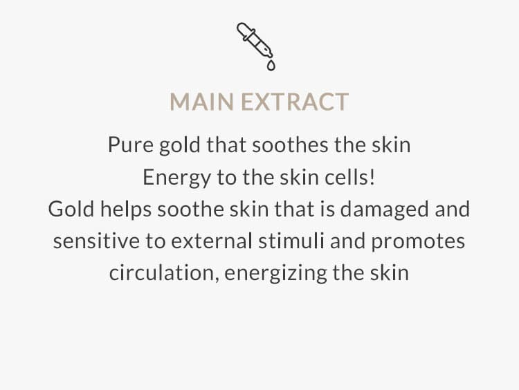 Farm stay 24K Gold Peptide Perfect Ampoule Cream Main Extract