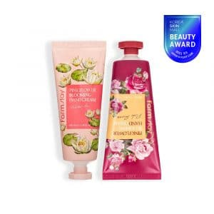 FARMSTAY PINK FLOWER BLOOMING HAND CREAM 2 set(water lily, pink rose)