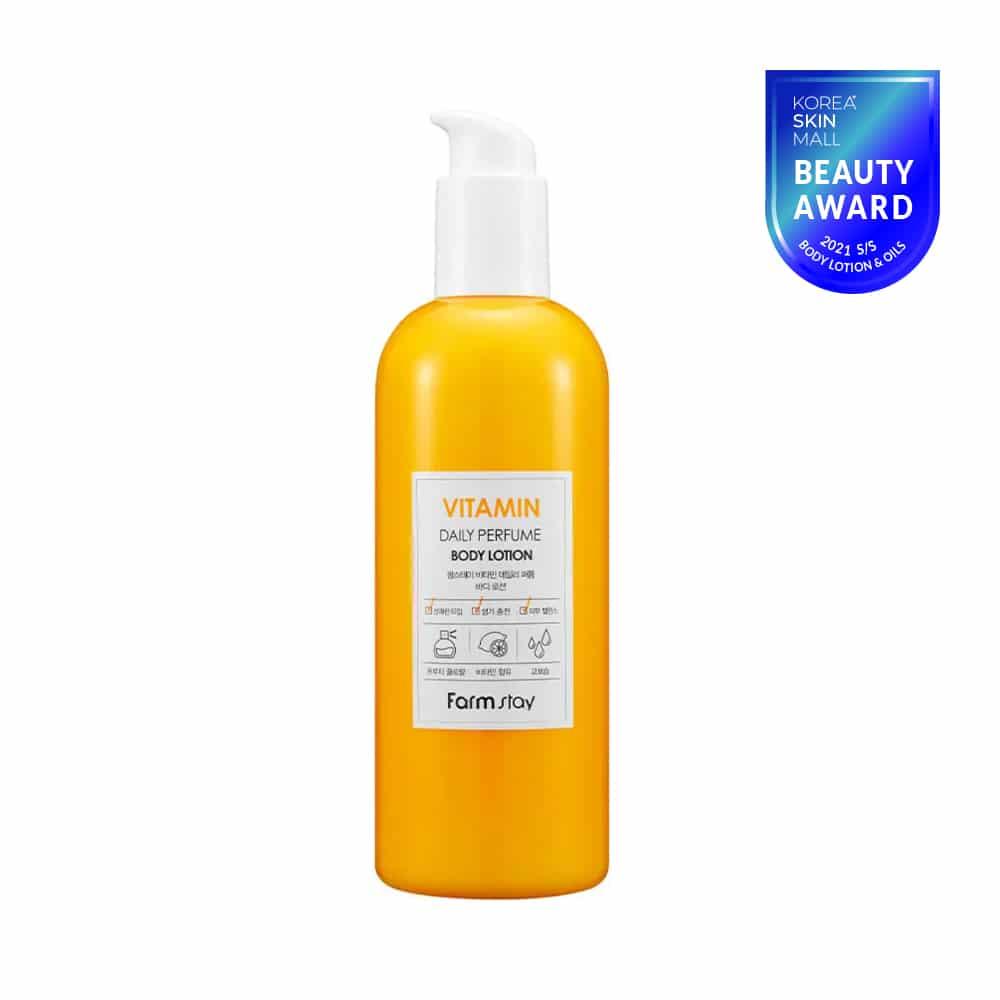 [Farmstay] Vitamin Daily Perfume Body Lotion-330ml