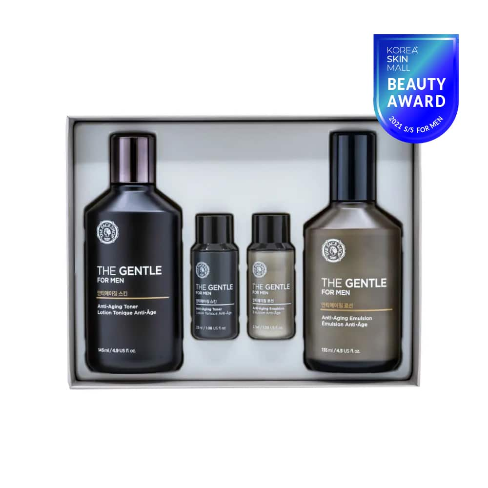 [THE FACE SHOP] The Gentle For Men Anti-Aging Skincare Gift Set