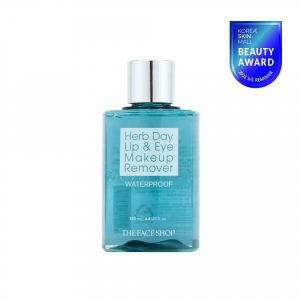 THE FACE SHOP HERB DAY Lip & Eye Makeup Remover (Waterproof)