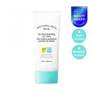 [THE FACE SHOP] Natural Sun Eco No Shine Hydrating Sun Cream-50ml