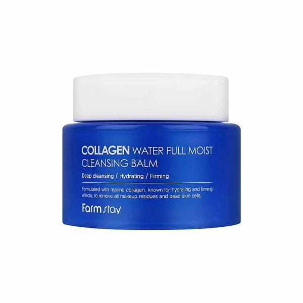 Farmstay Collagen Water Full Moist Cleansing Balm