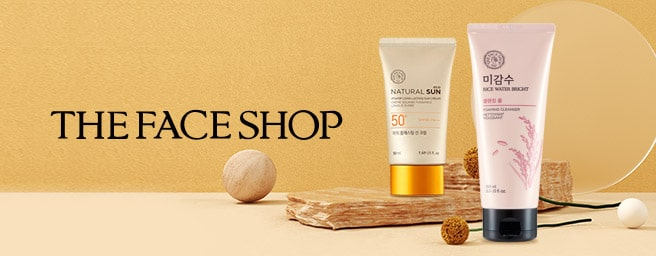 The Face Shop Rolling Banner