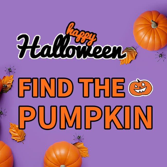EVENT   Find the Pumpkin